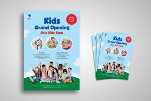 Flyer Template - Kids Educational Shop