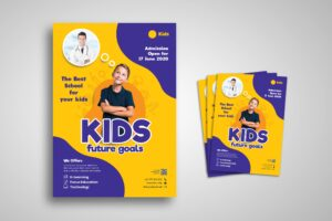 Flyer Template - Kids Future Goal School