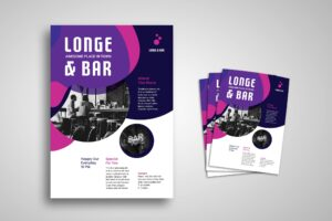 Flyer Template - Lounge & Bar