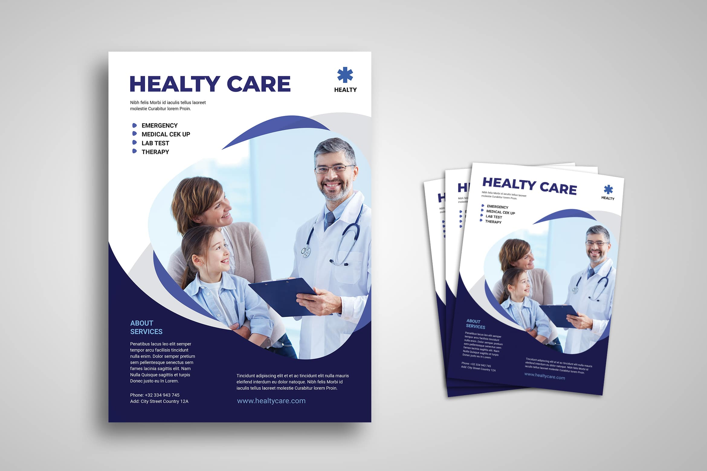 Flyer Template - Medical Care