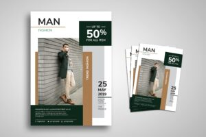 Flyer Template - Men Fashion
