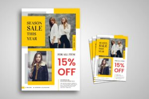 Flyer Template - Minimal Fashion