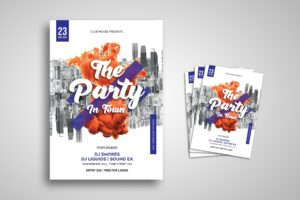 Flyer Template - Music Party Tour