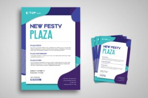 Flyer Template - New Plaza Festival