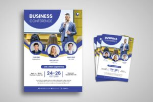 Flyer Template - Open Business Conference