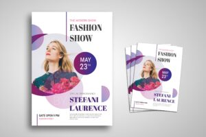 Flyer Template - Special Fashion Show