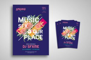 Flyer Template - Special Music Spring