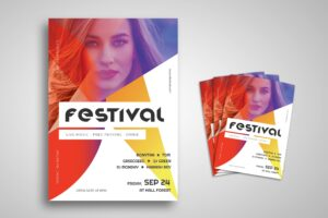 Flyer Template - Spotlight Festival