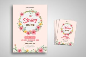 Flyer Template - Spring Festival Classic