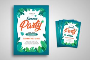 Flyer Template - Summer Party