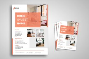 Flyer Template - Sweet Home Promotion