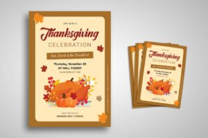 Flyer Template - Thanksgiving Celebration