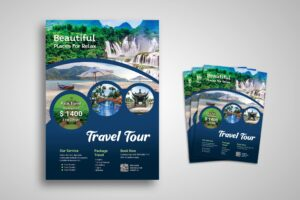 Flyer Template - Tour & Travel Package