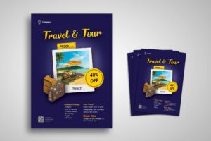 Flyer Template - Tour & Travel Promotion