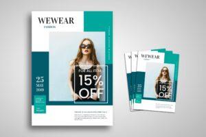 Flyer Template - Wear Fashion