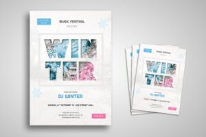 Flyer Template - Winter Music Festival