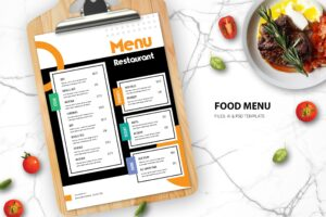 Food Menu - Main Course Taste