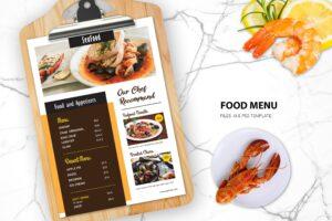 Food Menu - Special Seafood Resto