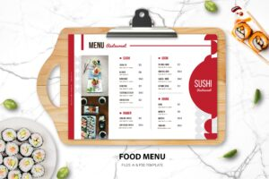 Food Menu - Sushi Resto