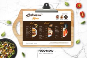 Food Menu - Western Fast Dishes