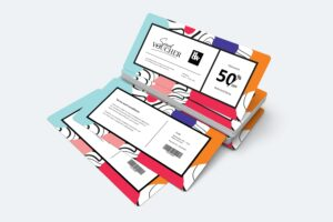 Gift Card Voucher - Template 21