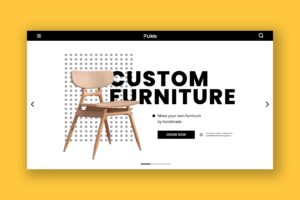 Hero Header - Custom Furniture