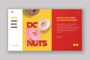Hero Header - Donuts Pleasure