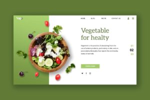 Hero Header - Healthy Vegetable Store