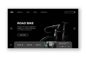 Hero Header - Road Bike Store