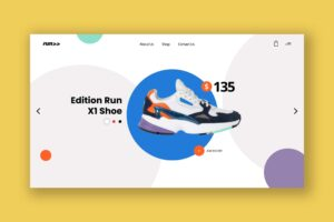 Hero Header - Running Edition Shoes