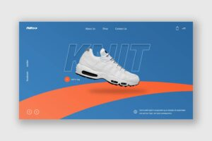 Hero Header - Running Sport Shoes