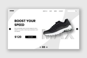 Hero Header - Speed Shoes Store