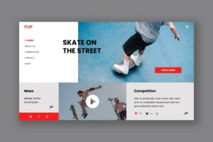 Hero Header - Street Skate Board