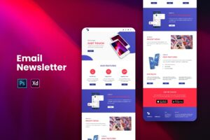 Mobile Apps Feature - Email Newsletter