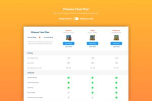 Pricing Table - Business Plan