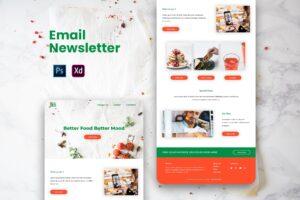 Restaurant Food Email Newsletter