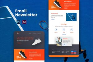 Sneaker Product - Email Newsletter