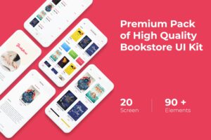 Mobile UI KIT - Bookstore App