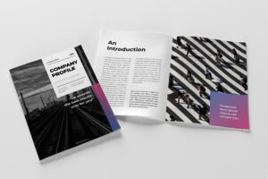 Company Profile - Study Case Project