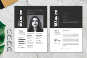 CV Resume – Graphic Designer Profile 20