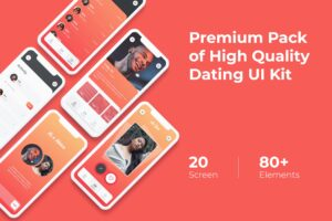 Mobile UI KIT - Dating App