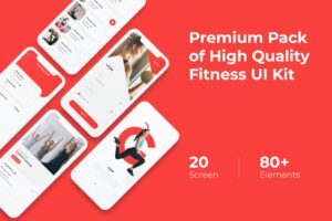 Mobile UI KIT - Fitness App