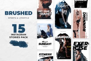 Instagram Stories - Fitness Center Theme