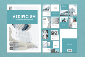 Magazine Template - Building Design
