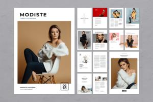 Magazine Template - Trend Fashion