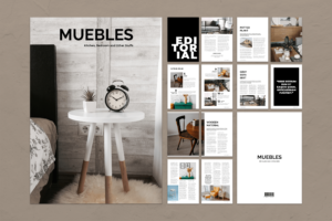 Magazine Template - Furniture Set