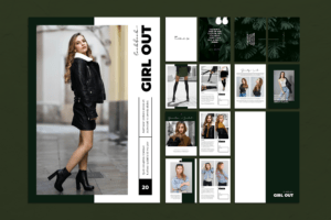 Magazine Template - Women Fashion