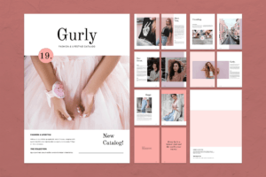 Magazine Template - Fashion Catalogs