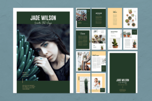 Magazine Template - Plants Portofolio