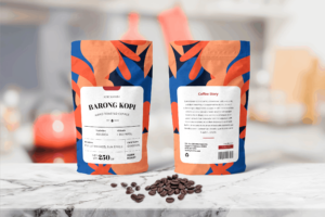 Packaging Template - Barong Coffee